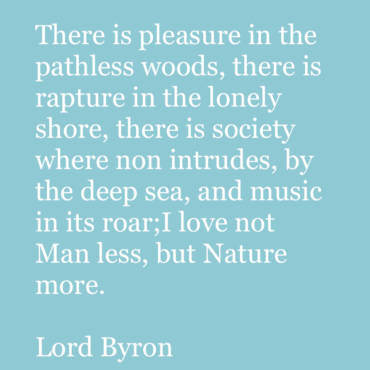 Quote – Lord Byron