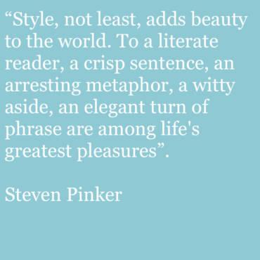 Quote – Steven Pinker