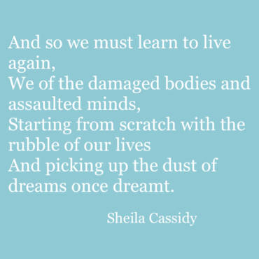 Quote – Sheila Cassidy
