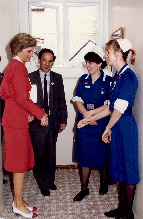 Meeting Princess Diana